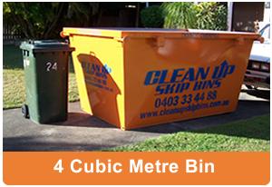 4 cubic metre skipbin hire Brisbane
