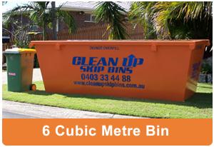 6 cubic metre skipbin